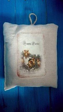 Úžitkový textil - Veľkonočný vankúšik - 7934791_