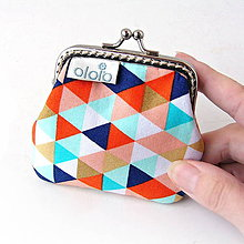 Peňaženky - Peňaženka mini Najveselšie trojuholníky - 7934740_
