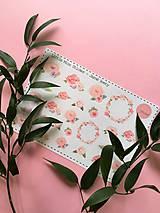 Drobnosti - Jarné kvety (nálepky) - 7936947_
