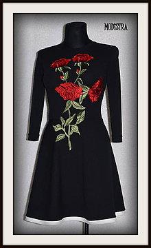 Šaty - Jarné šaty s aplikáciou - 7938140_
