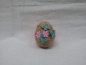 Dekorácie - veľkonočné vajíčko - 7935815_