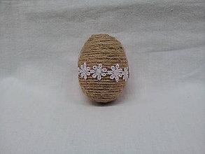 Dekorácie - veľkonočné vajíčko - 7935834_