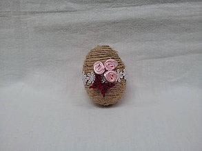 Dekorácie - veľkonočné vajíčko - 7935848_