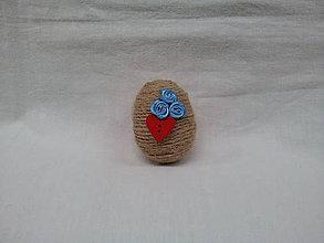 Dekorácie - veľkonočné vajíčko - 7936135_
