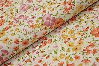 Textil - Lúčne kvietky š. 140cm - 7934796_
