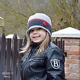 Detské čiapky - Prechodná šiltovka... s gombíkom - 7938640_
