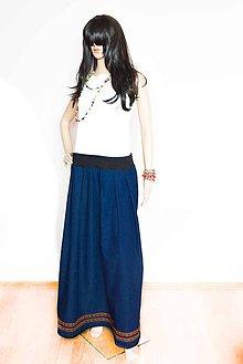 Sukne - _DeNiM & eTNo... Jeans Edition - 7940679_