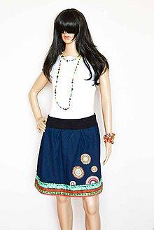 Sukne - _DeNiM & MaNDaLa... Jeans Edition - 7942490_