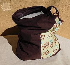 Detské doplnky - Maxi veľké nepremokavé vrecko na plienky / plavky - 7942182_
