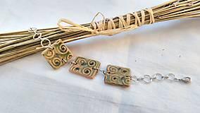 Náramky - Náramok z keramiky Green - 7941708_
