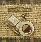 Papier - S952 - Servítky - káva, coffee, café, zrnko kávy, šálka, Paríž - 7938725_