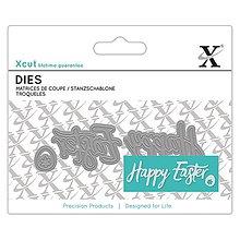 Pomôcky/Nástroje - Mini Dies 3ks - vyrezávacia šablóna - Happy Easter - 7940859_