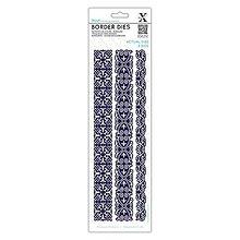 Pomôcky/Nástroje - Bordúry Die 3ks - vyrezávacia šablóna - Vintage bordúry - 7941255_