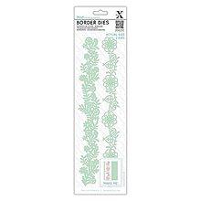 Pomôcky/Nástroje - Bordúry Die 2ks - vyrezávacia šablóna - Kvetinové bordúry - 7941285_