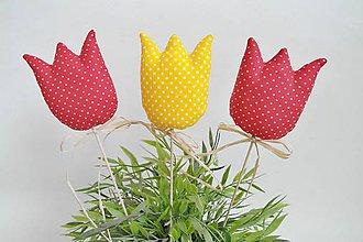 Dekorácie - Tulipány - 7939494_