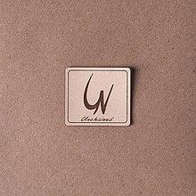 Drobnosti - Kožené štítky Unchained - 7941210_