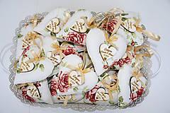 Darčeky pre svadobčanov - svadobné levanduľové srdiečka - 7939513_
