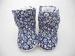 Topánočky - Teplé papučky - 7940017_
