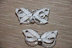 Drobnosti - Stříbrné prstýnky- dekorace - 7938617_