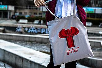 Nákupné tašky - Plátenná taška Gottko - 7940110_