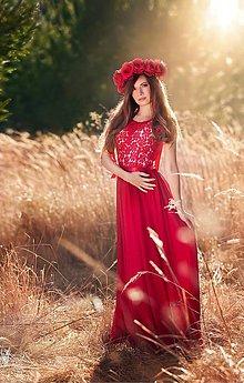 Šaty - Spoločenské šaty so slzou na chrbáte rôzne farby - 7938854_