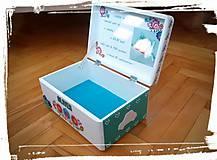 Krabica spomienok-ľudový motív