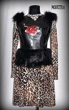 Iné oblečenie - Ruža na veste-ZĽAVA 30%!!! - 7942512_