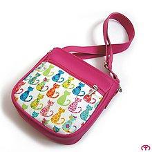 Detské tašky - for KIDS - Cats (pink) - 7942548_