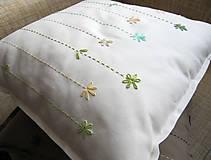 Úžitkový textil - jarné tóny... - 7942355_