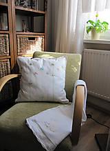 Úžitkový textil - jarné tóny... - 7942365_