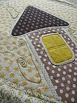 Úžitkový textil - Obrusy - rôzne druhy - s aplikáciou - 7942073_