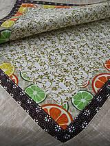 Úžitkový textil - Obrusy - rôzne druhy. - 7942100_