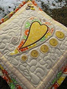 Úžitkový textil - Srdce k srdcu No.4 - 7942150_