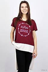 Tričká - Dámske tričko BAMBUS 06 VIERA - 7939981_