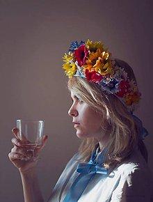 Ozdoby do vlasov - AKCIA folková parta by michelle flowers - 7942999_