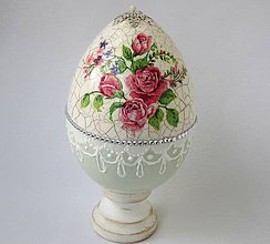 Dekorácie - Kraslica Rosalinda - 7945605_