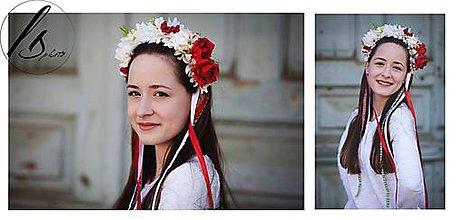 Ozdoby do vlasov - Folklórna parta - 7945657_