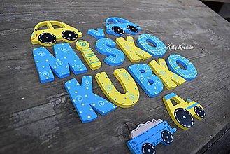 Detské doplnky - chlapčenské písmenká - 7944166_