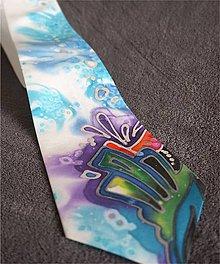 Doplnky - hodvábna kravata Habotai 10 - 7945278_