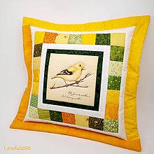 Úžitkový textil - Jarní den - polvlak na polštářek - 7943372_
