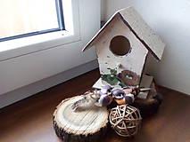 Dekorácie - Vtáčia búdka - 7944372_