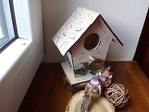 Dekorácie - Vtáčia búdka - 7944371_