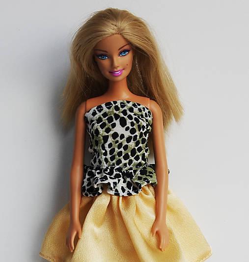 31e3359f4599 Tigrový top pre Barbie   TrishaFate - SAShE.sk - Handmade Hračky