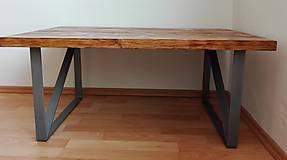 Nábytok - Industriálny konferenčný stôl - 7945987_