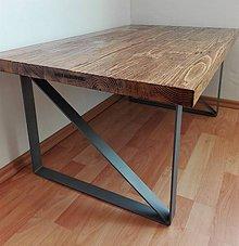 Nábytok - Industriálny konferenčný stôl - 7945986_