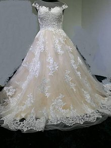 Šaty - Dokonalé nevšedné svadobné šaty - 7944295_