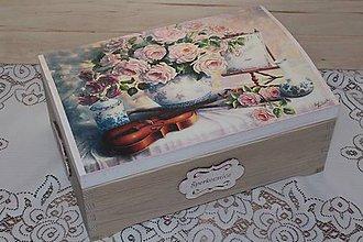 Krabičky - masívna šperkovnica - 7944366_