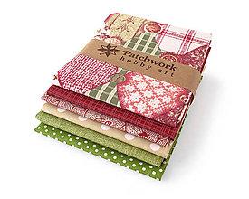 Textil - Bavlnené látky - balíček TFQ087 - 7945680_