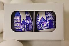 Dekorácie - darčeková krabička  na 2 husacie  kraslice - 7945470_