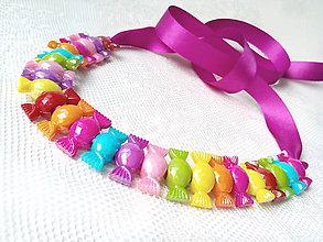 Náhrdelníky - BonBon necklace - 7949093_